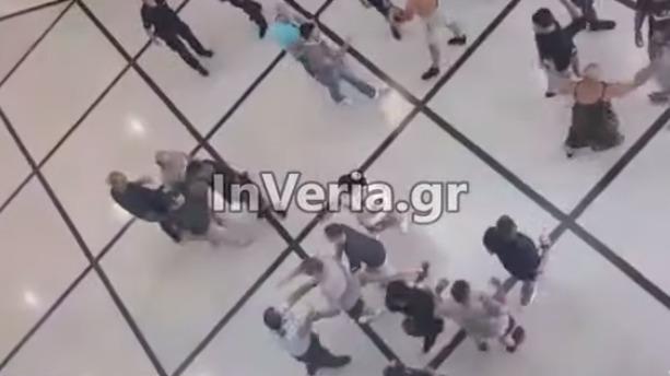 Βέροια: Άγρια συμπλοκή στο δικαστικό Μέγαρο – Δύο τραυματίες (vid)
