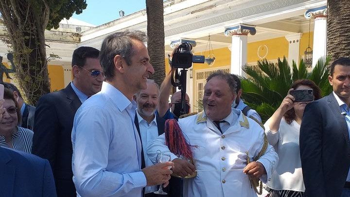 Την Κέρκυρα επισκέπτεται ο πρωθυπουργός, πρώτη στάση το Αχίλλειο
