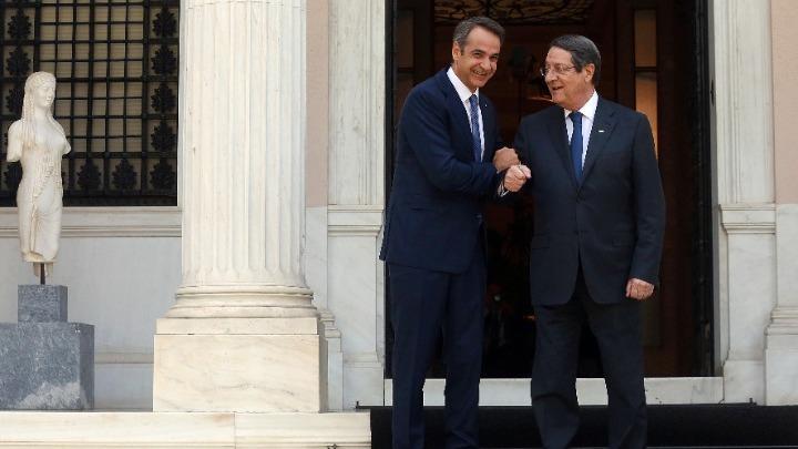 Συντονισμός Μητσοτάκη-Αναστασιάδη για τις τουρκικές προκλήσεις