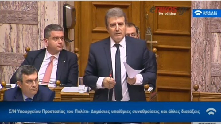 Χρυσοχοΐδης: Όποιος χρησιμοποιεί μολότοφ θα συλλαμβάνεται – Υπήρχε σχέδιο για τη διάλυση της διαδήλωσης