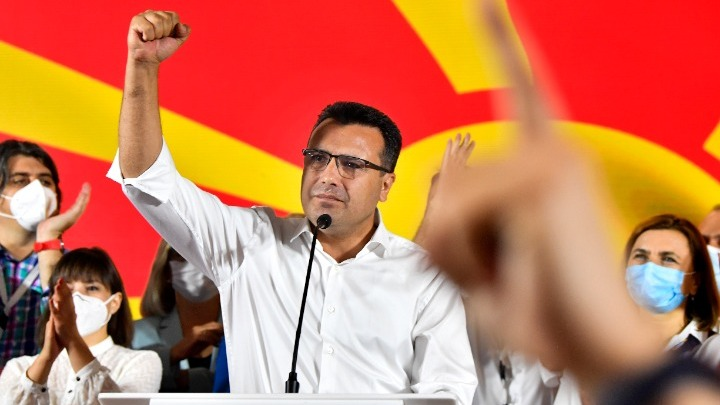 Βόρεια Μακεδονία: Πρωτιά Ζάεφ με διαφορά δύο εδρών