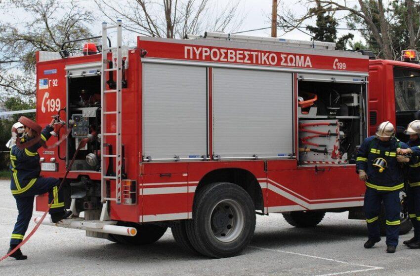 Φωτιά κοντά σε κατοικημένη περιοχή στην Αταλάντη