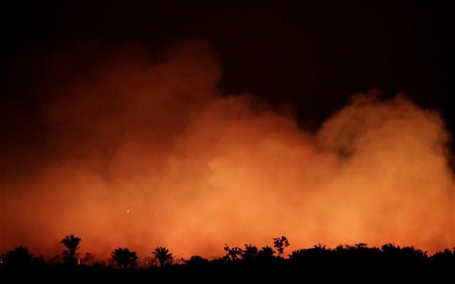Βραζιλία: Φλέγεται ο Αμαζόνιος, 6.803 πυρκαγιές τον Ιούλιο