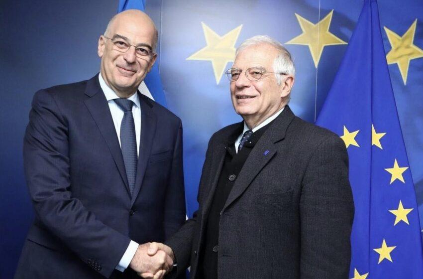"""""""Πονηριά"""" Μπορέλ με γερμανικό νεύμα: """"Νοθεύει"""" το έκτακτο Συμβούλιο Εξωτερικών Υποθέσεων που ζήτησε η Αθήνα με…Λίβανο και Λευκορωσία"""