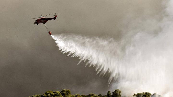Μάνη: Φωτιά στην Κοκκάλα