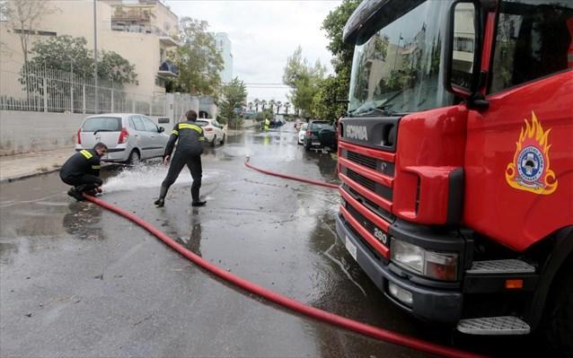 Εύβοια: Διακοπή κυκλοφορίας σε πολλούς δρόμους λόγω των ισχυρών βροχοπτώσεων
