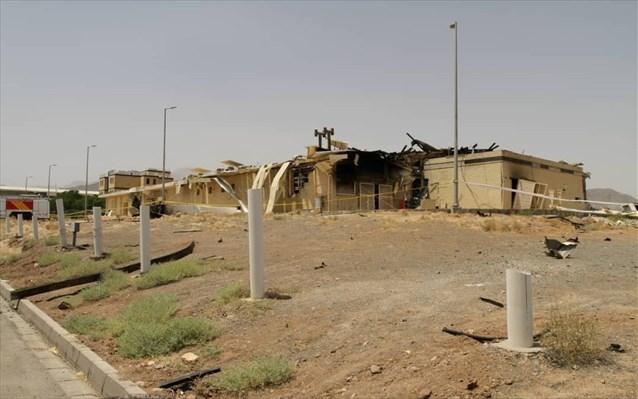 Σε σαμποτάζ αποδίδεται η πυρκαγιά στις πυρηνικές εγκαταστάσεις της Νατάνζ στο Ιράν