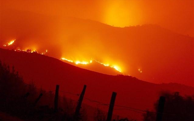 Πυρκαγιά στον Ξηρόκαμπο Νεμέας