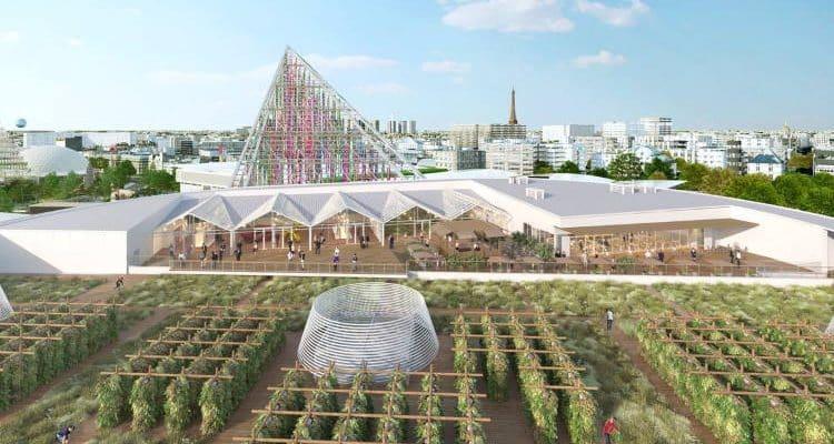 Αστικές καλλιέργειες στο κέντρο του Παρισιού