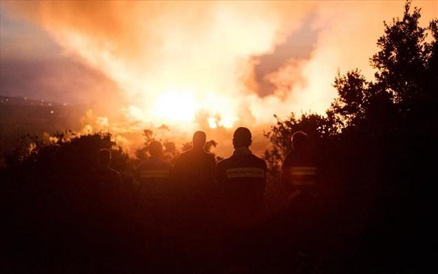 Πού είναι πολύ υψηλός ο κίνδυνος πυρκαγιάς αύριο – Διατηρείται η γενική επιφυλακή