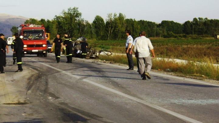 Τροχαίο δυστύχημα με θύμα ποδηλάτη σε επαρχιακή οδό στις Σέρρες