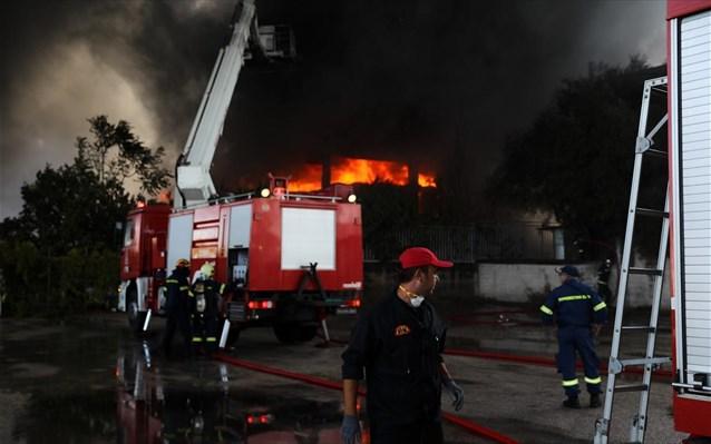 Οδηγίες για την φωτιά στην Μεταμόρφωση- Κίνδυνος αναθυμιάσεων από τους καπνούς