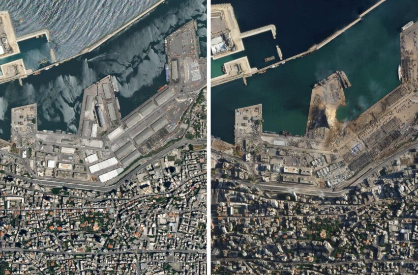 Η Βηρυτός πριν και μετά…