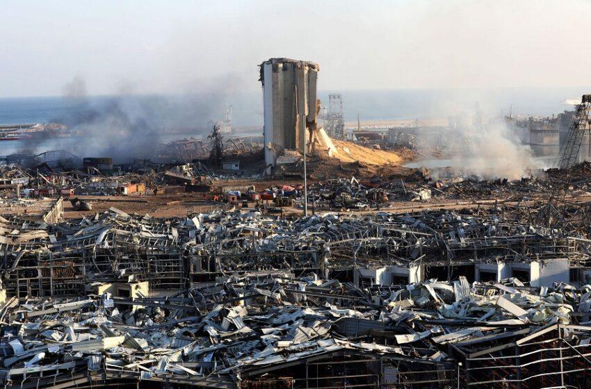 """Έκρηξη στην Βηρυτό: Οργή πάνω στα συντρίμμια – """"Θάφτηκε"""" προειδοποίηση επιθεωρητών να απομακρυνθεί η νιτρική αμμωνία (vid)"""