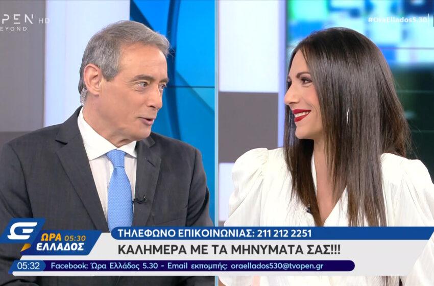 Real: Ο Ιορδάνης Χασαπόπουλος αφήνει το Open για το Mega