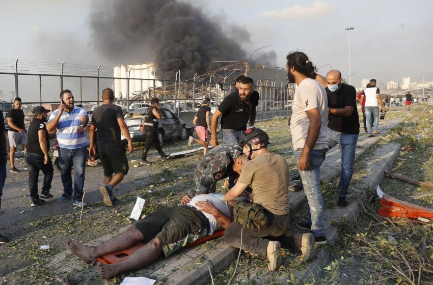 Παγκόσμιο σοκ από τον όλεθρο στη Βηρυτό – Κύμα συμπαράστασης από όλο τον κόσμο (εικόνες, vid)