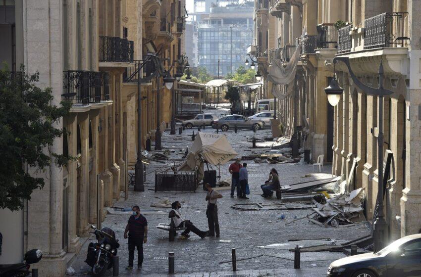 Λίβανος: 1,3 τόνοι πυροτεχνημάτων εντοπίστηκαν από το στρατό στο λιμάνι της Βηρυτού