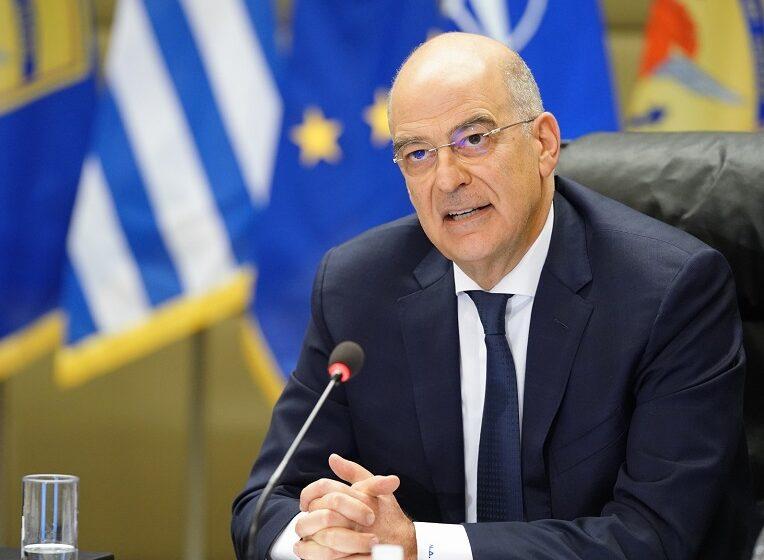 Ν. Δένδιας: Η ΕΕ να στείλει μήνυμα στην Άγκυρα για τις έκνομες συμπεριφορές – Οι προϋποθέσεις του ελληνοτουρκικού διαλόγου
