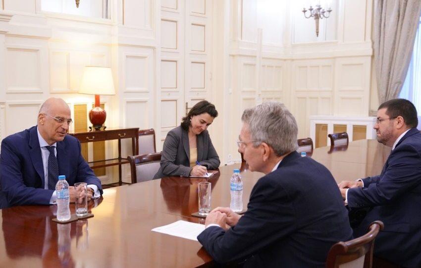 """Διάλογο Ελλάδας-Τουρκίας προτείνει ο Πάϊατ- Με το βλέμμα στην """"ενεργειακή ασφάλεια"""" στην αν. Μεσόγειο"""