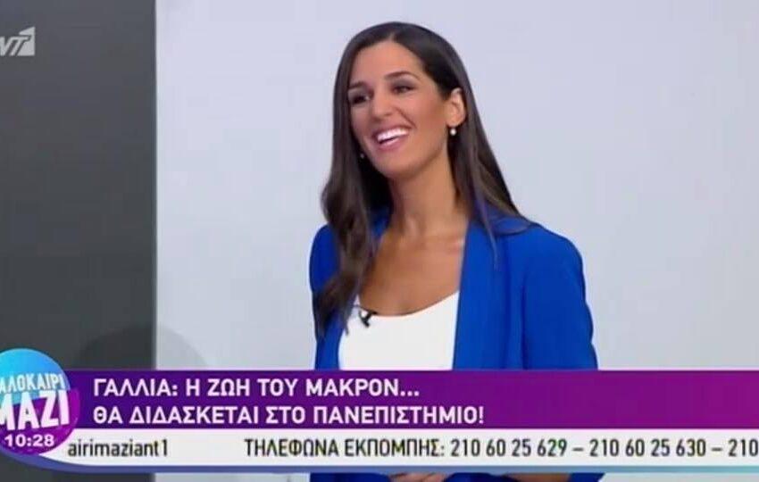 """Καλά στην υγεία της η δημοσιογράφος του Ant1 Κωνσταντίνα Κλοκοτάρα που έχασε τις αισθήσεις της """"on air"""" (vid)"""