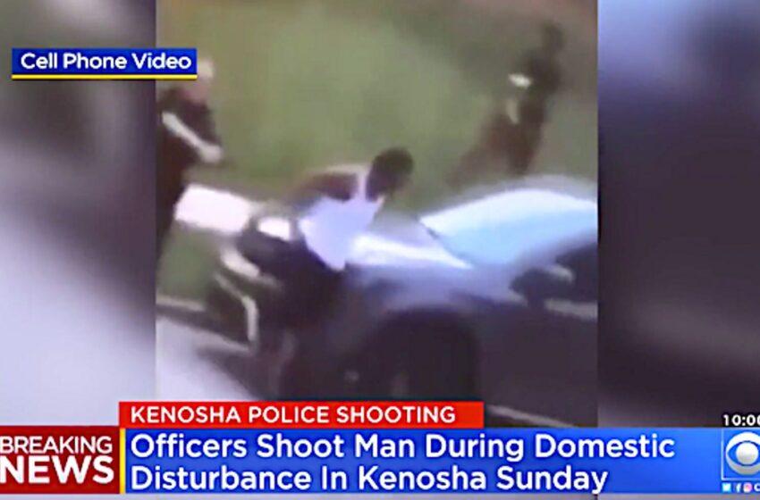Βίντεο σοκ: Αστυνομικοί πυροβολούν 7 φορές πισώπλατα αφροαμερικανό μπροστά στα παιδιά του – Νέες διαδηλώσεις (vid)