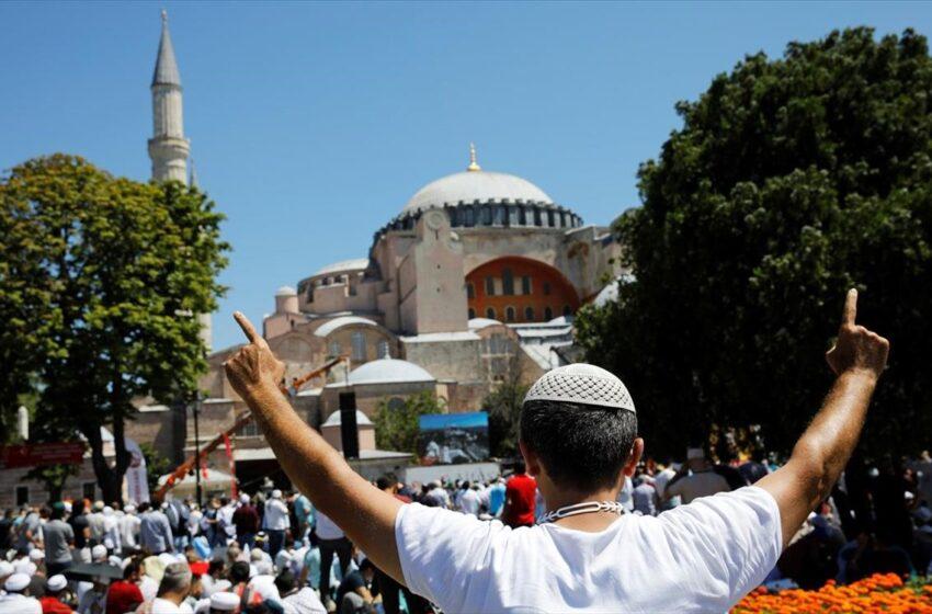 Κάπα Research: Τι πιστεύουν Έλληνες και Τούρκοι για τη μετατροπή της Αγίας Σοφίας – Απάντηση έκπληξη
