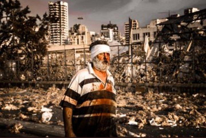 Ισοπεδώθηκε η Βηρυτός από την έκρηξη – Φωτογραφίες που κόβουν την ανάσα