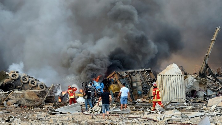 Έκρηξη στη Βηρυτό: Συγκαλείται το Ανώτατο Συμβούλιο Άμυνας
