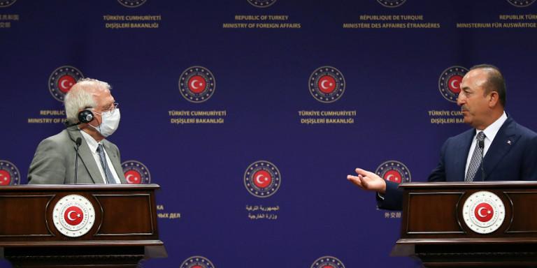 Η Κομισιόν…ανησυχεί! Επικοινωνία Μπορέλ-Τσαβούσογλου, εν αναμονή τηλεφωνήματος Μέρκελ σε Ερντογάν