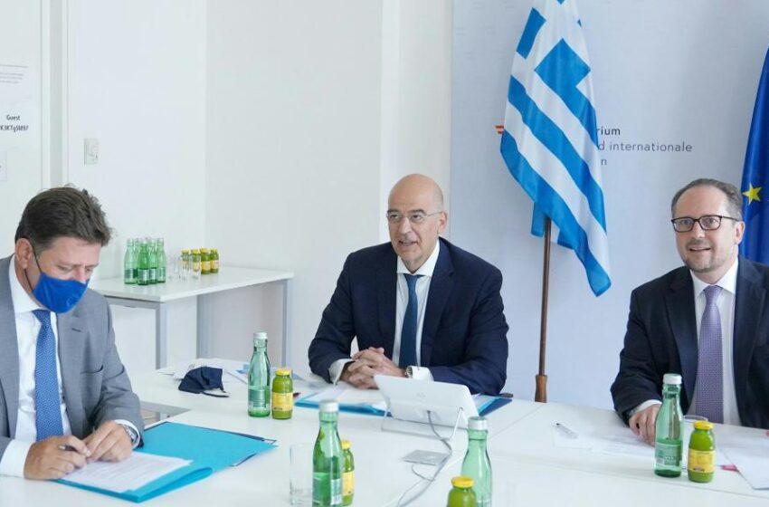 """""""Φλύαρη"""" στήριξη της Ελλάδας έναντι της Τουρκίας στο Συμβούλιο ΥΠΕΞ της Ε.Ε"""