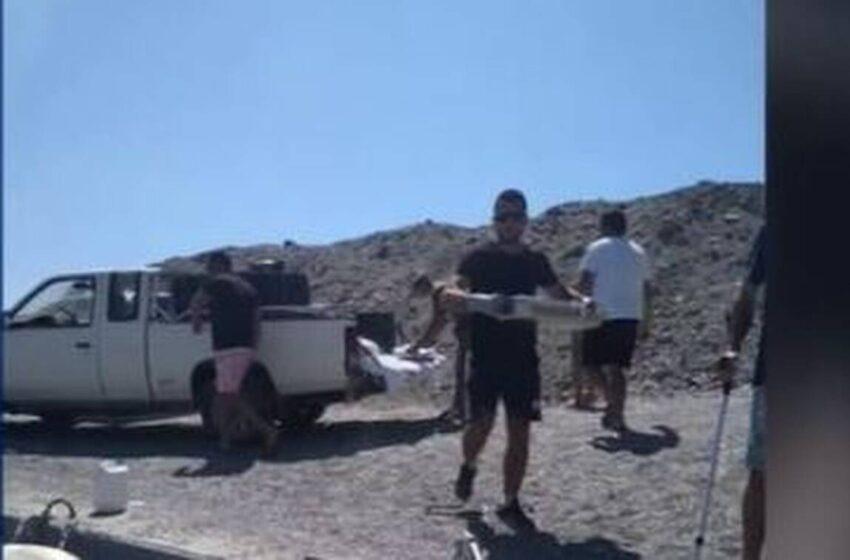 Ιεράπετρα: Κάτοικοι πήγαν ζεστό φαγητό σε φρεγάτες του ελληνικού ναυτικού