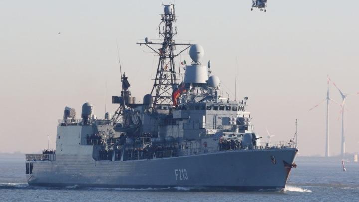 """Γερμανική φρεγάτα αποπλέει για την ανατολική Μεσόγειο – Θα ηγηθεί της αποστολής """"Ειρήνη"""" της Ε.Ε"""