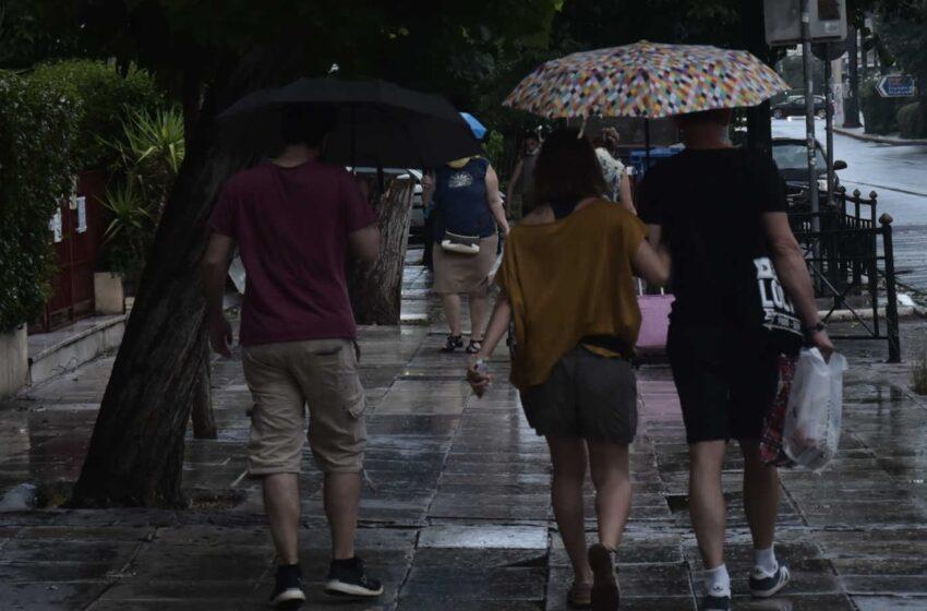 Μπουρίνι: Πού θα βρέξει, πού αναμένονται χαλαζοπτώσεις
