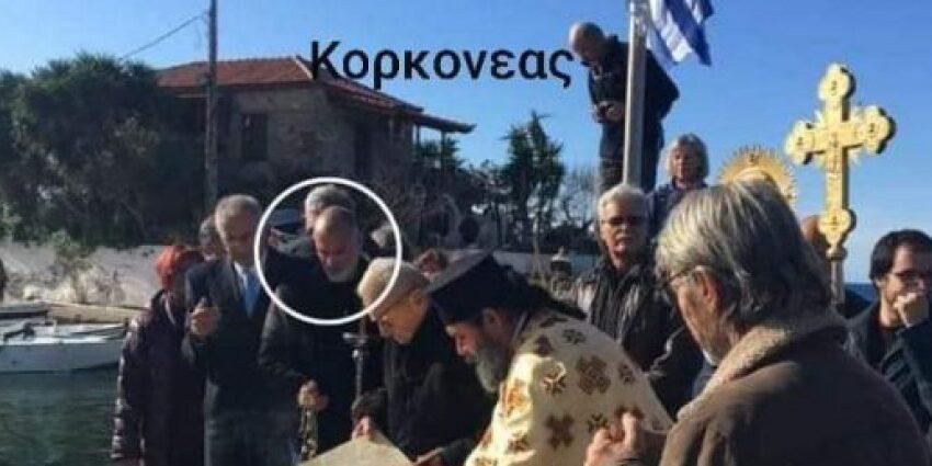 """Ο Κορκονέας """"βολεύτηκε"""": Χρίστηκε επίτροπος σε εκκλησία – Αντιδράσεις στη Στούπα Μεσσηνίας"""