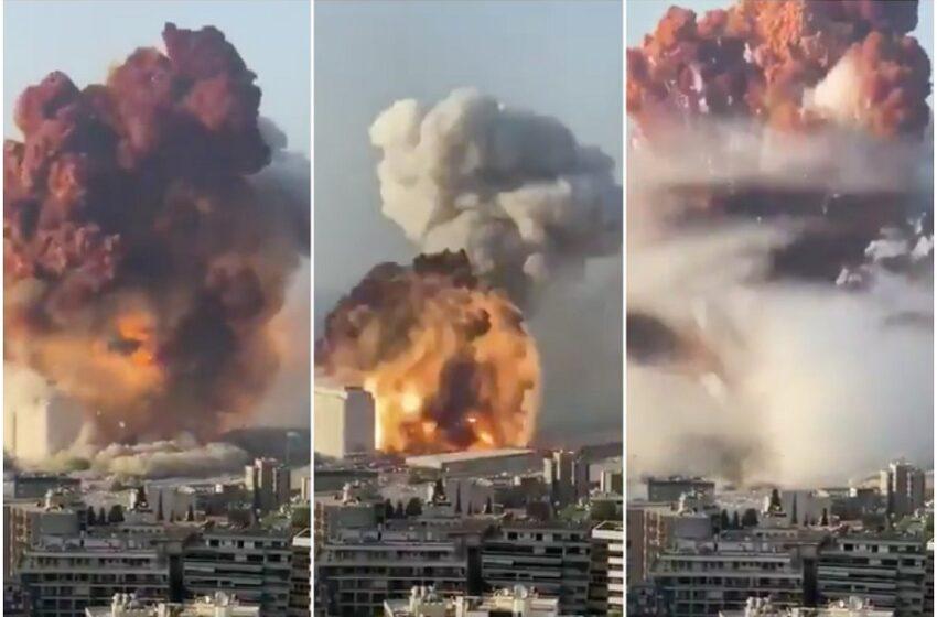 Εκρήξεις Βηρυτός: Εκατόμβη νεκρών – Ολονύχτιες έρευνες για επιζώντες στα συντρίμμια – Εικόνες πολέμου και χάους (vid)