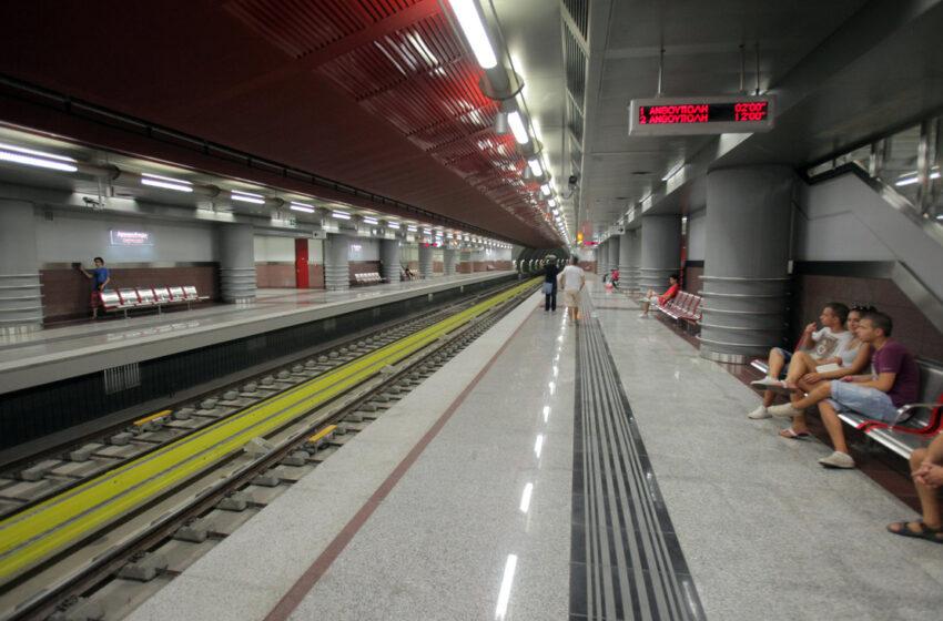 Μετρό: Αυξάνονται τα δρομολόγια, αλλά από την άλλη εβδομάδα