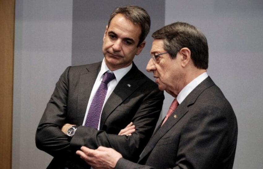 Επικοινωνία Μητσοτάκη-Αναστασιάδη για συντονισμό, καθώς αναμένεται κλιμάκωση από την Τουρκία