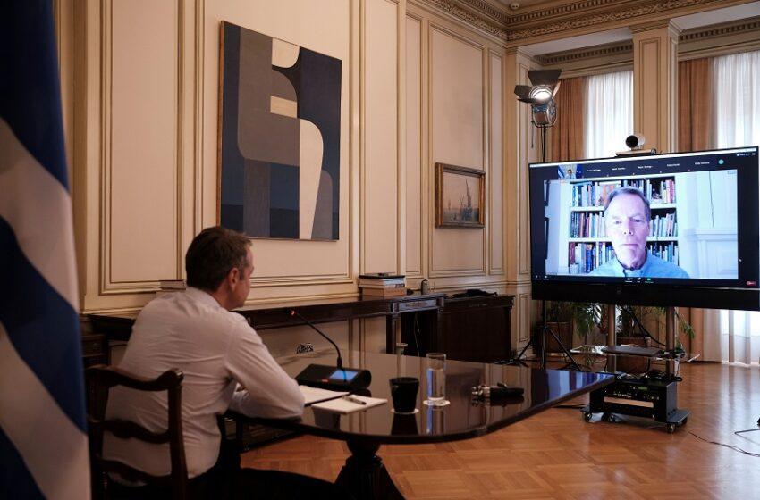 Aspen Security Forum 2020: Ολόκληρη η παρέμβαση Μητσοτάκη στο διάλογο με τον πρώην αμερικανό πρεσβευτή Ν. Μπέρνς