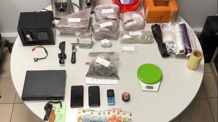 Συνελήφθη μέλος κυκλώματος εμπορίας ηρωίνης στη Θεσσαλονίκη