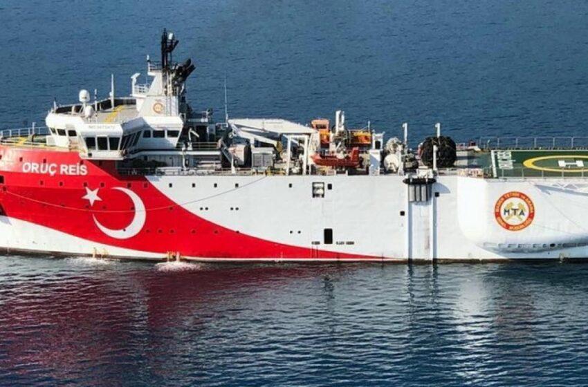 Τουρκικός Τύπος: Το Oruc Reis έφερε παραίτηση στην Ελλάδα