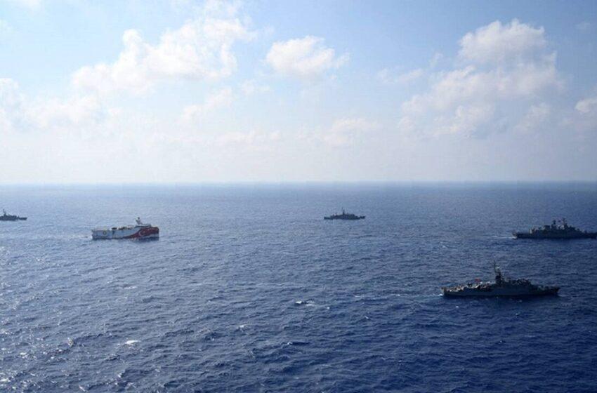Ξαφνική ένταση στο Καστελόριζο – Η Άγκυρα με NAVTEX στέλνει πάλι το Oruc Reis – Ακόμη δύο πλοία κοντά στην περιοχή