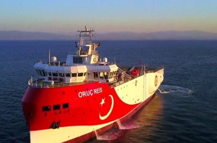 Νέα εξέλιξη: Το Oruc Reis άλλαξε κατεύθυνση και πλέει πάλι προς την ελληνική υφαλοκρηπίδα