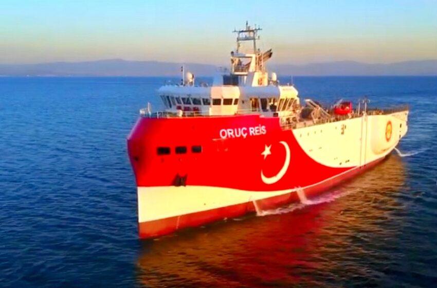 Νέα εξέλιξη: 20 μίλια εντός ελληνικής υφαλοκρηπίδας το Oruc Reis