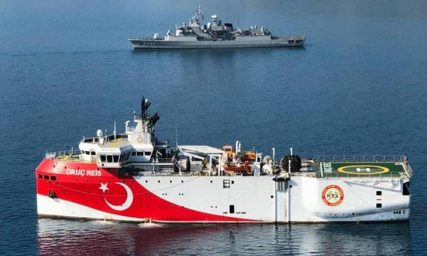 """Σε """"θερμή διάταξη"""" Ελλάδα-Τουρκία- Εντολή Ερντογάν να κινηθεί το Oruz Reis- Σε ύψιστη ετοιμότητα οι Ένοπλες Δυνάμεις"""