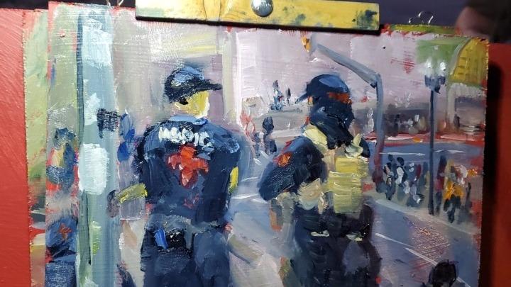 """""""Τείχος από Καλλιτέχνες"""" στο Πόρτλαντ"""