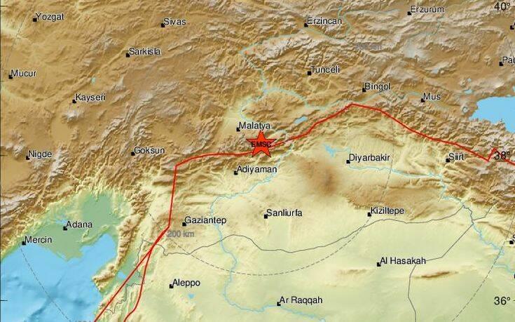 Ισχυρός σεισμός 5,2 Ρίχτερ στην Τουρκία