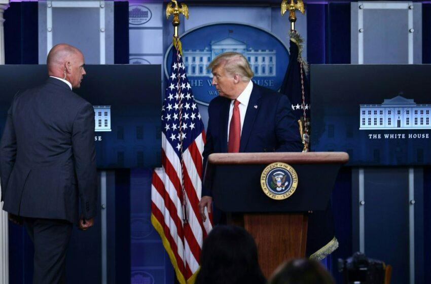 Λευκός Οίκος: Η στιγμή των πυροβολισμών και η αντίδραση Τραμπ (vid)