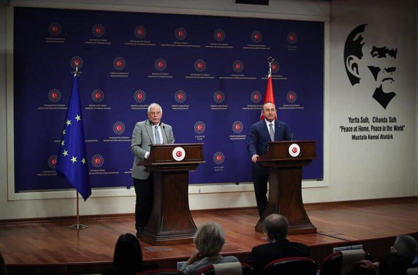 Τσαβούσογλου μετά τη συνάντηση με Μπορέλ: Η συμφωνία Ελλάδας-Αιγύπτου απογοήτευσε την ΕΕ