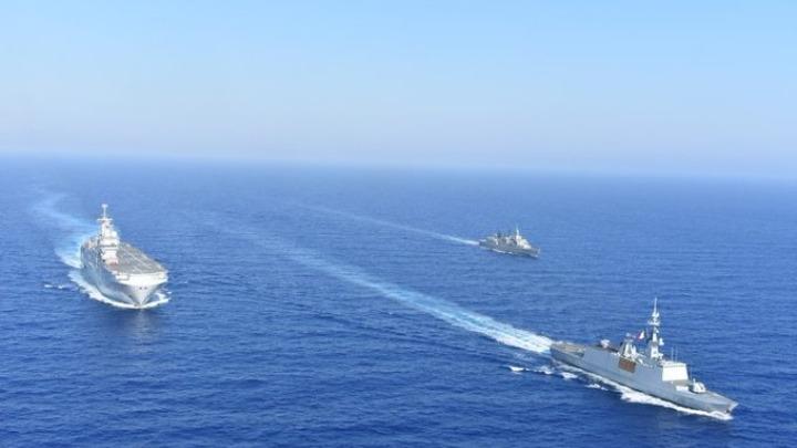 Ελληνογαλλική άσκηση στην αν. Μεσόγειο και στην περιοχή της παράνομης NAVTEX