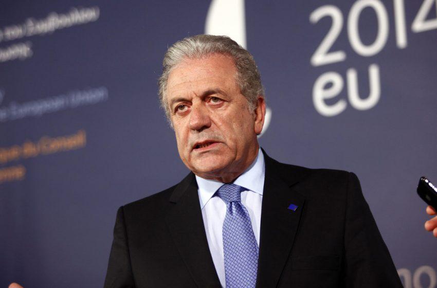 Δ. Αβραμόπουλος: Η καταστροφή της Μόριας έφερε ξανά στην επιφάνεια το ζήτημα της μετανάστευσης